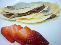 Crepes de nutella