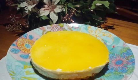 tarta de queso  lima y limon