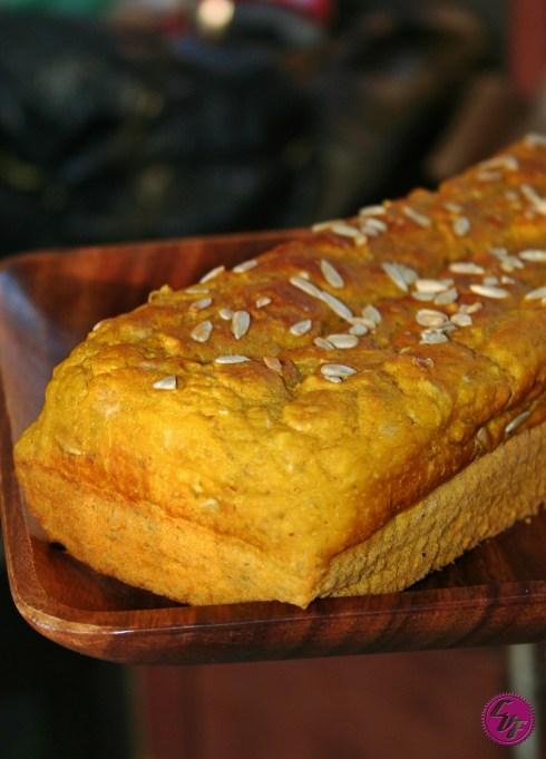 Pan de calabaza (zapallo)