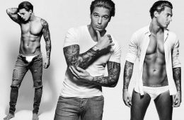 MAN CANDY: Mario Falcone Flaunts Body For New Calendar