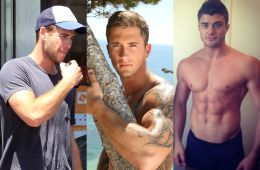 MAN CANDY: Dan Osborne, Joey Essex, Rob Lowe & Ex On The Beach Boys All Shirtless!