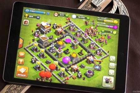 clash of clans on ipad