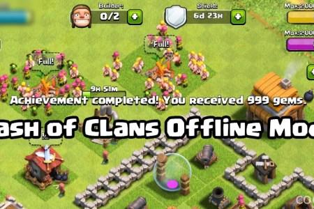 clash of clans offline mode