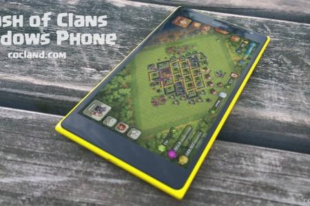 clash of clans on windows phone