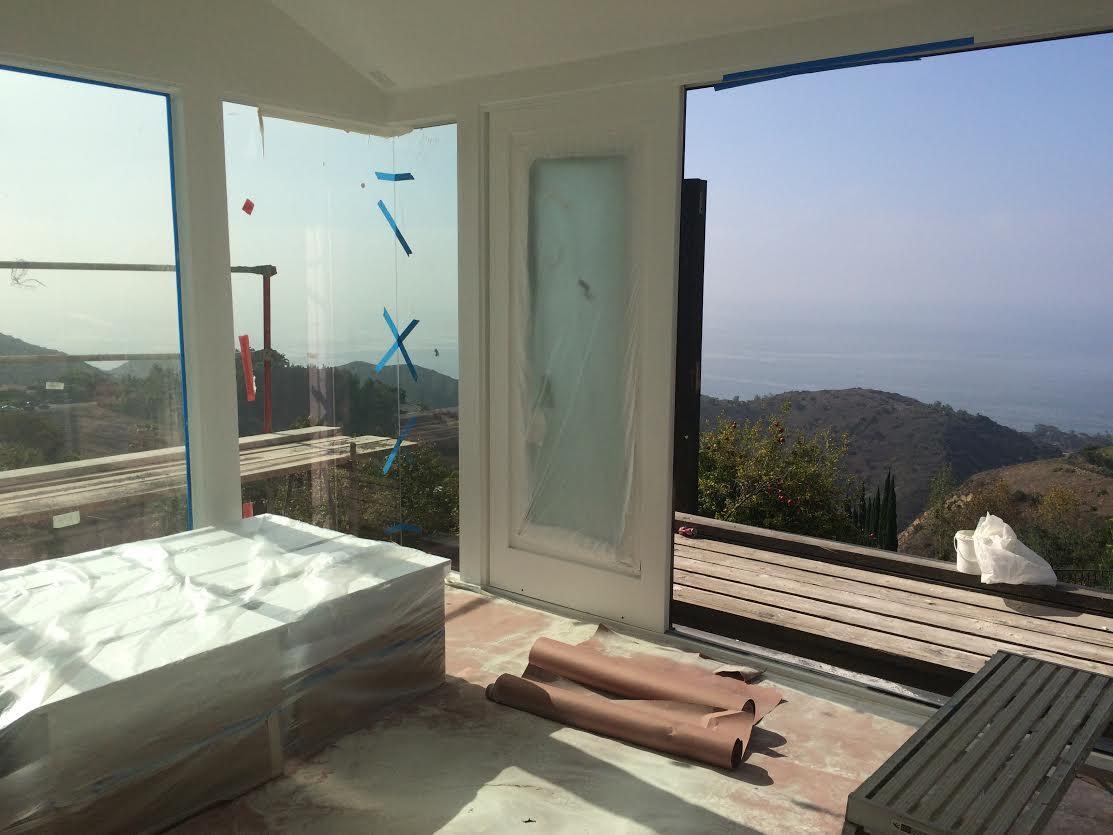 master bedroom ocean view cococozy malibu