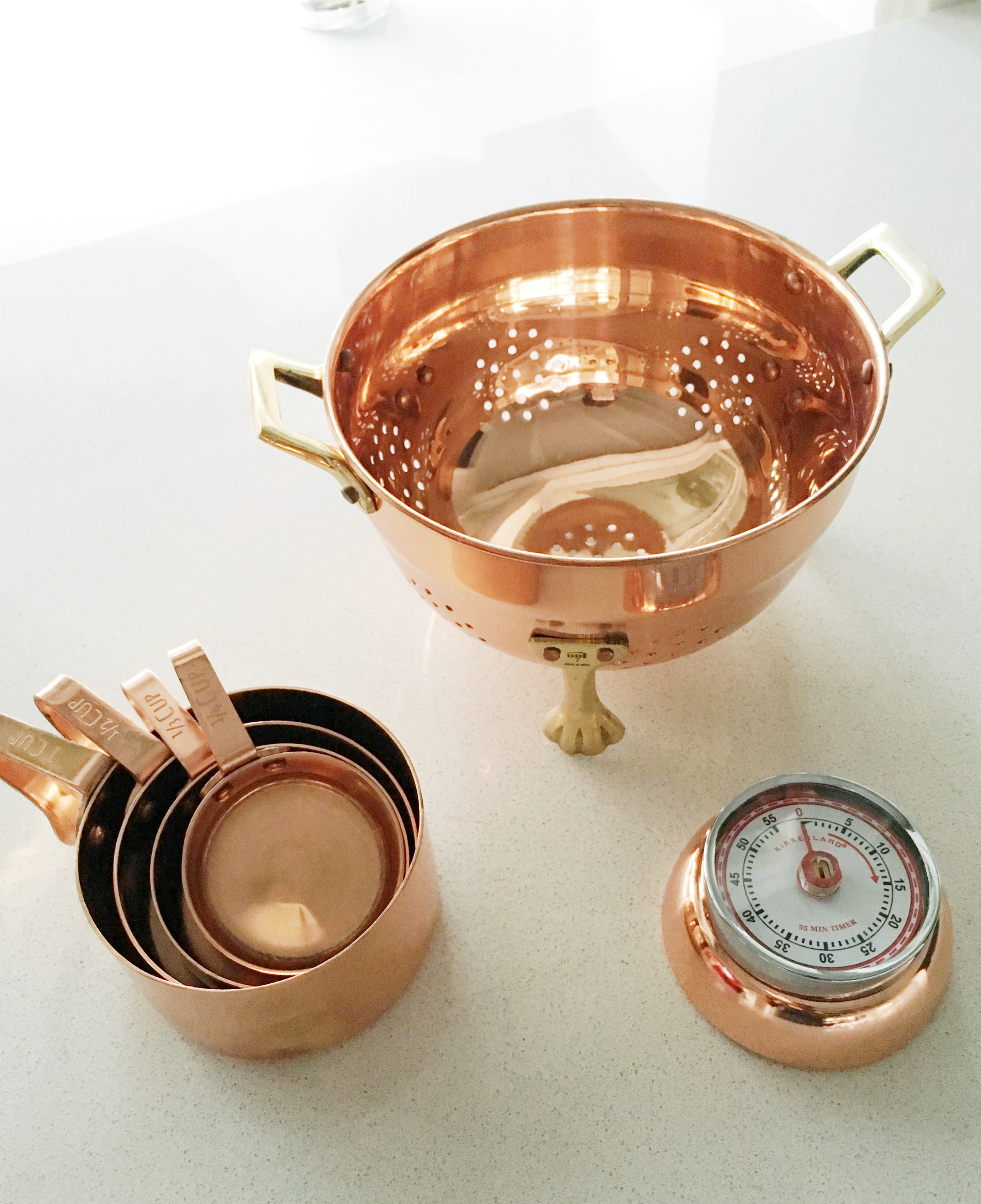 8 cute copper kitchen accessories once over cococozy