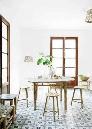 Cement Tile Floors – Spanish Apartment Style