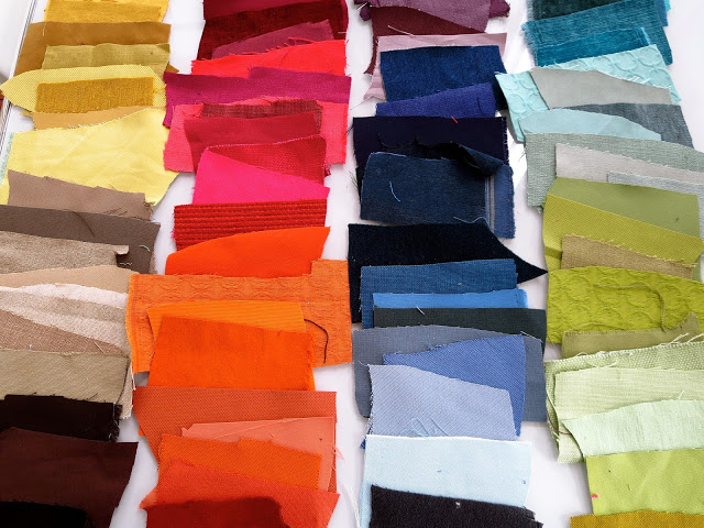 Color swatches for COCOCOZY 2014