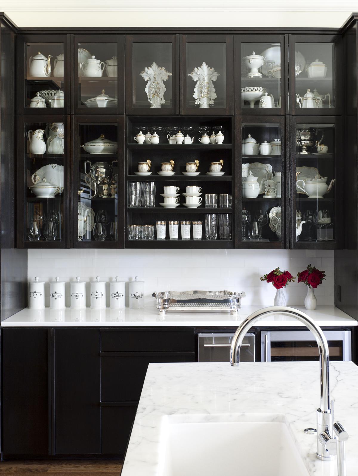 Bye White Hello Dark Kitchen Cabinets Cococozy