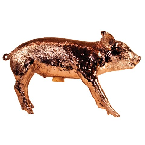 Copper limited edition Harry Allen piggy bank