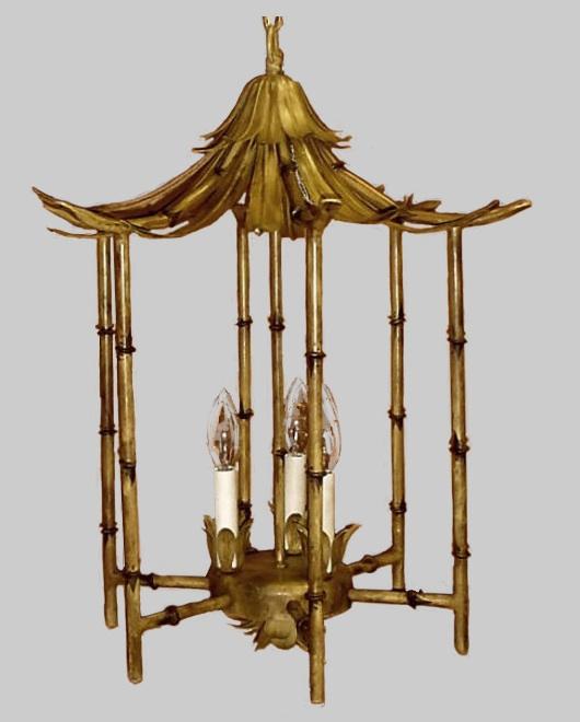 Pagoda Lantern from Fantasy Lighting