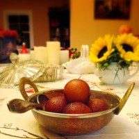 Easy Gulab Jamuns: Spongy Indian Donuts in Fragrant Syrup (Eggless)