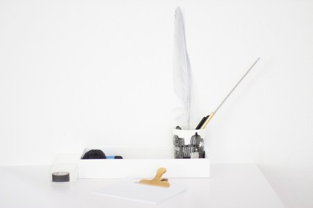 DIY desk tray - by Coco Lapine