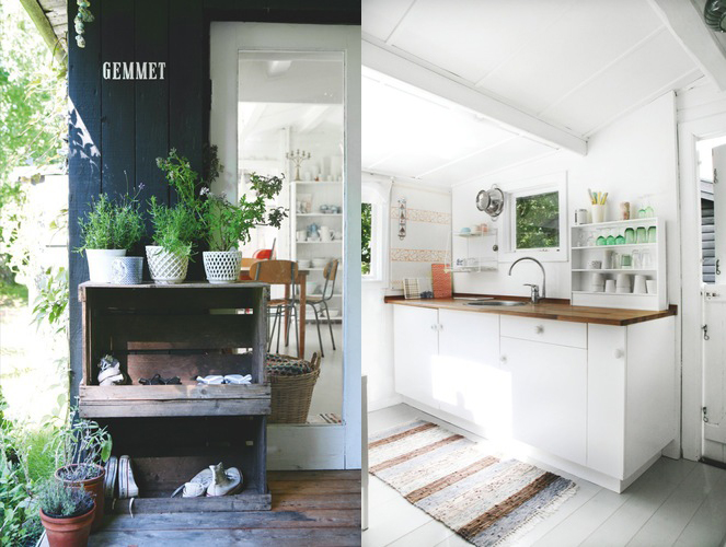 Summer house of a ceramic designer - via Coco Lapine