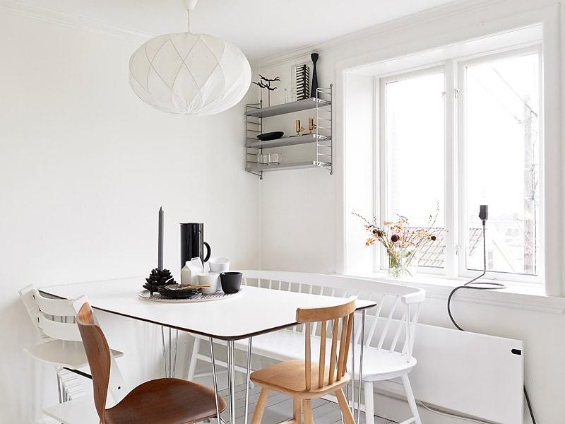 Cozy Swedish home - via Coco Lapine Design