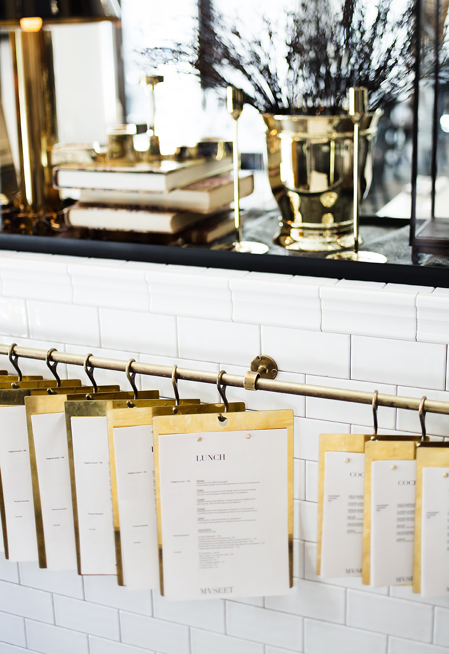 Museet restaurant Stockholm - via Coco Lapine Design