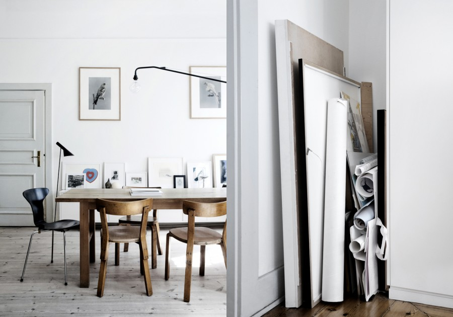 Stockholm living by Line Klein - via Coco Lapine Design