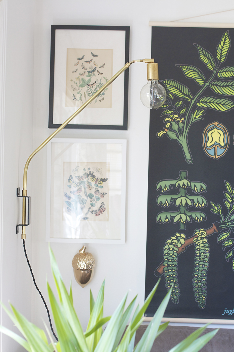 DIY brass lamp - via Coco Lapine Design