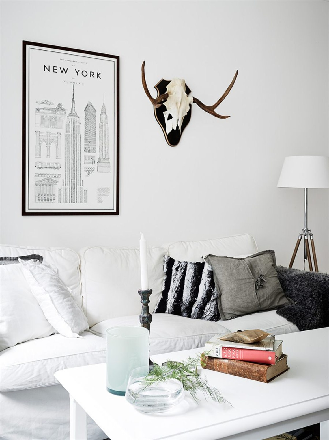 Home with muted colors - via Coco Lapine Design