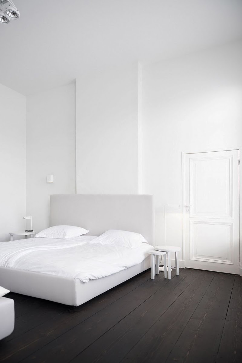 White and minimal by Studio Niels - via cocolapinedesign.com