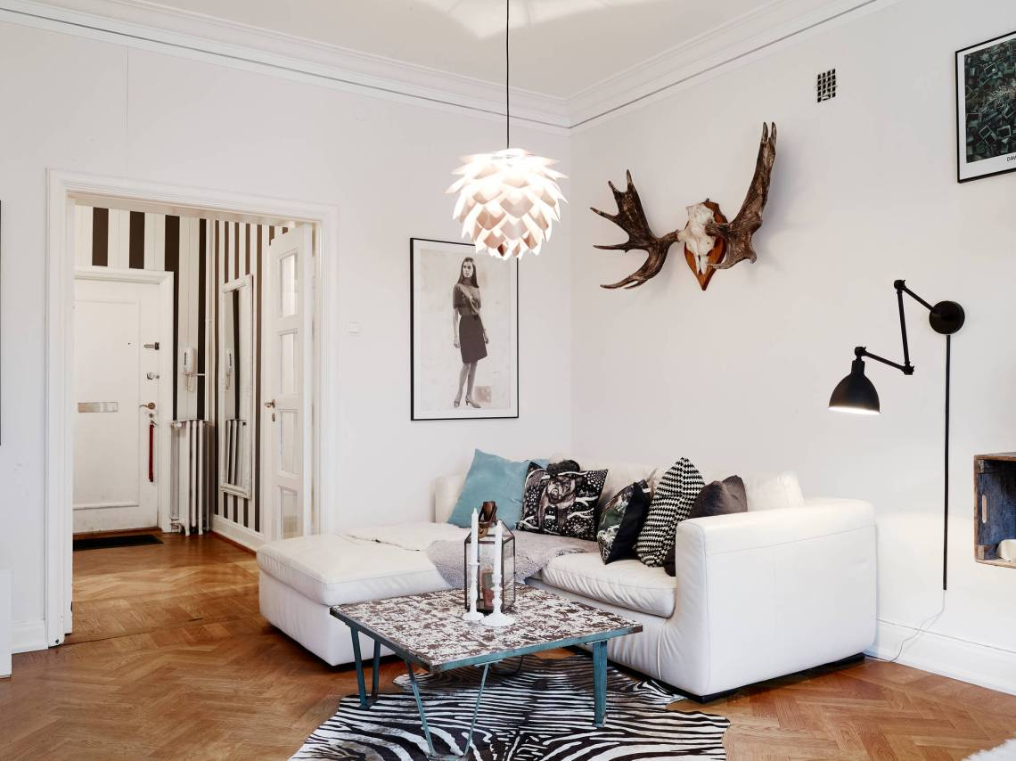 Living room with different angles and lines - COCO LAPINE DESIGNCOCO ...