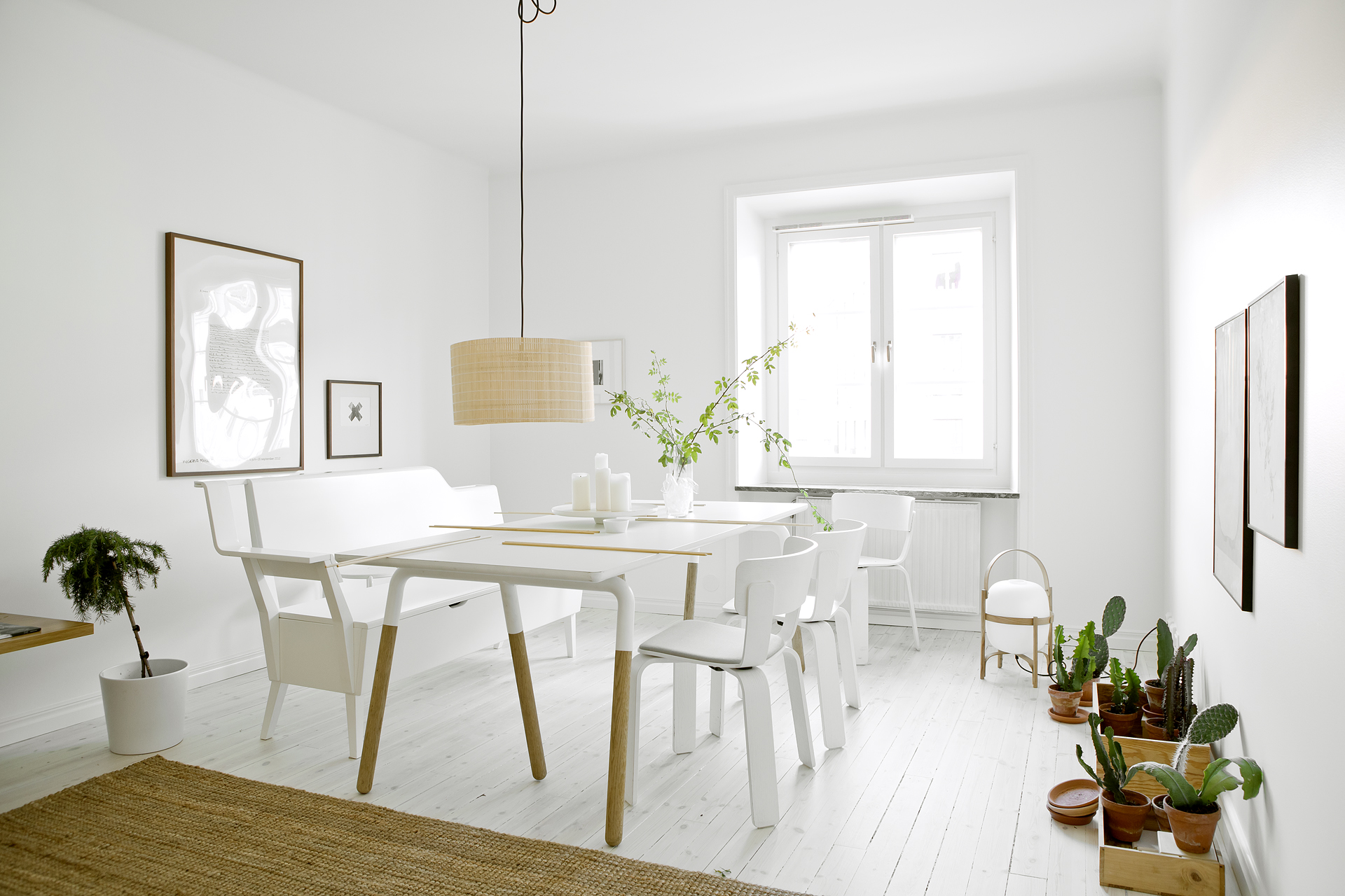 White beige and greens in a stockholm apartment coco lapine white beige and greens in a stockholm apartment via cocolapinedesign dzzzfo