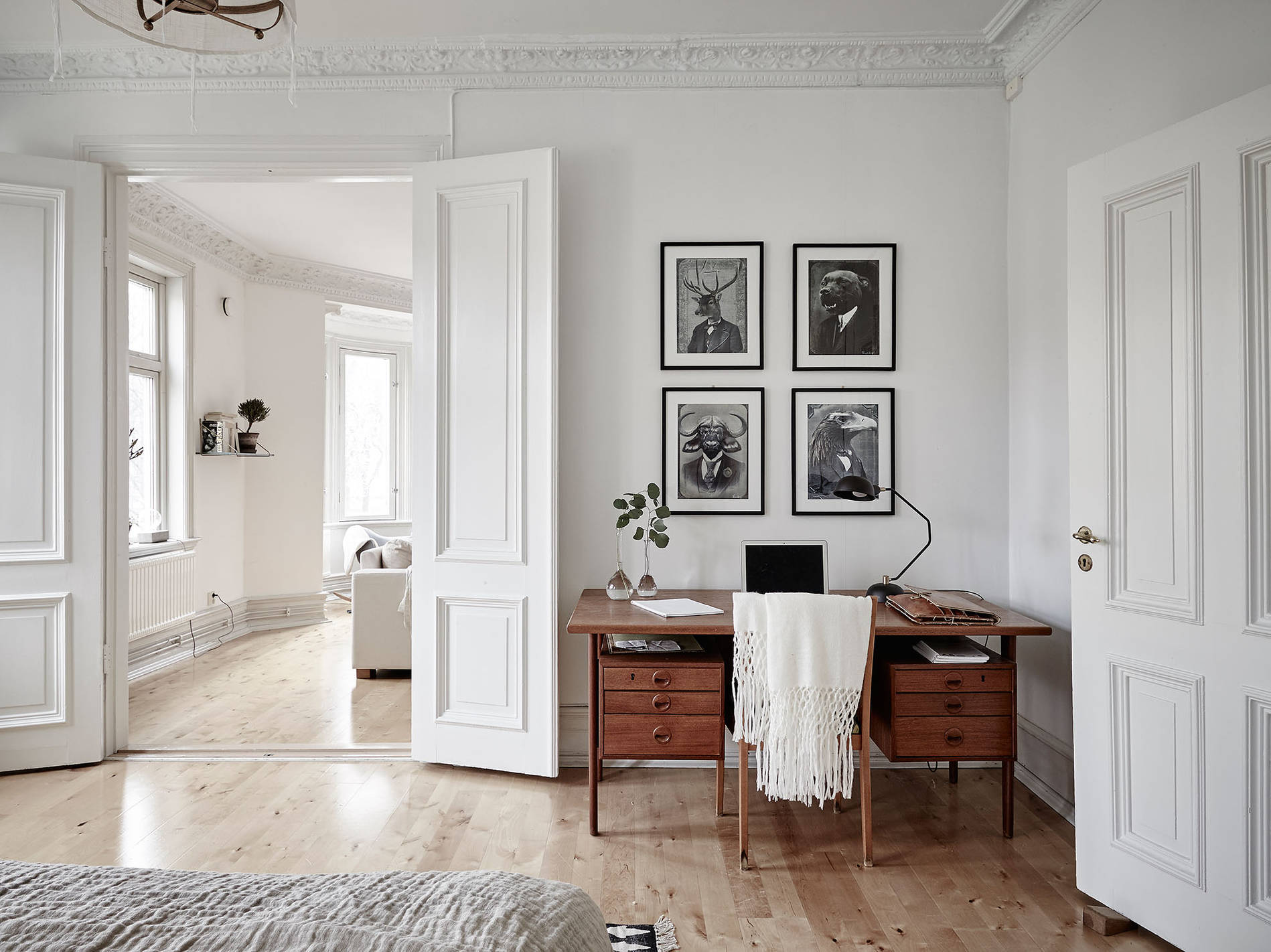 ... Mid Century Modern Interior In An Old Building   Via  Cocolapinedesign.com ...