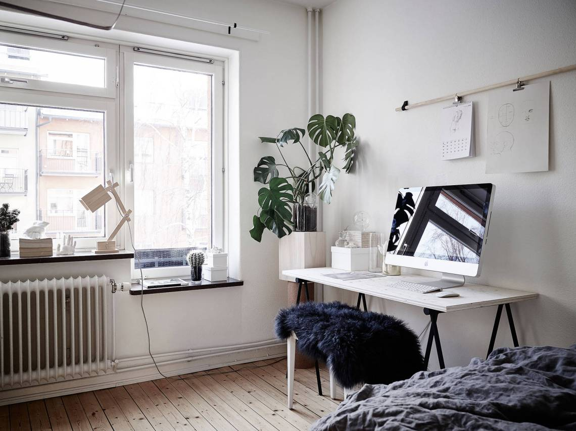 Bedroom Living Room And Work Space In One Coco Lapine
