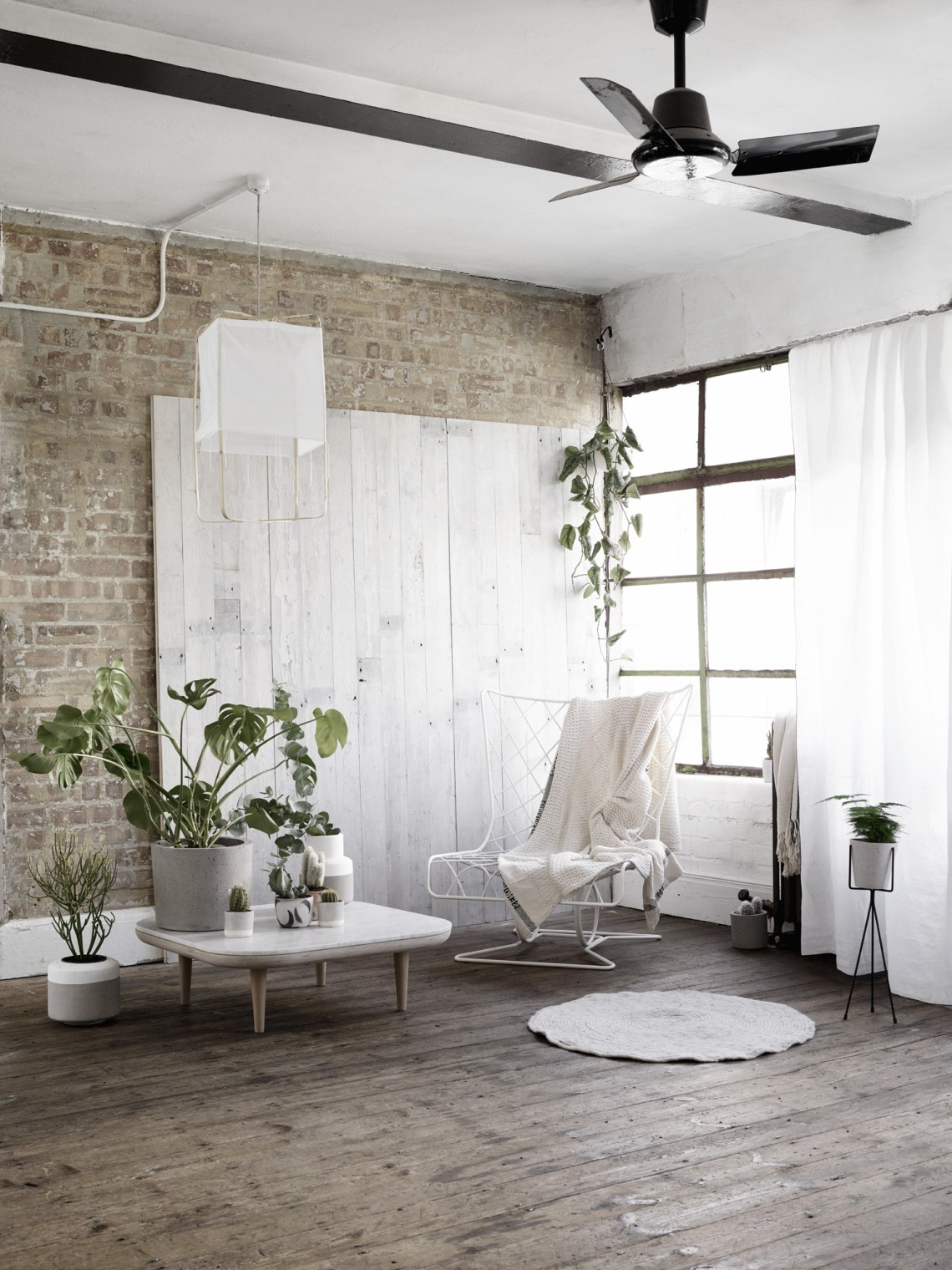 Lofty greens - via cocolapinedesign.com