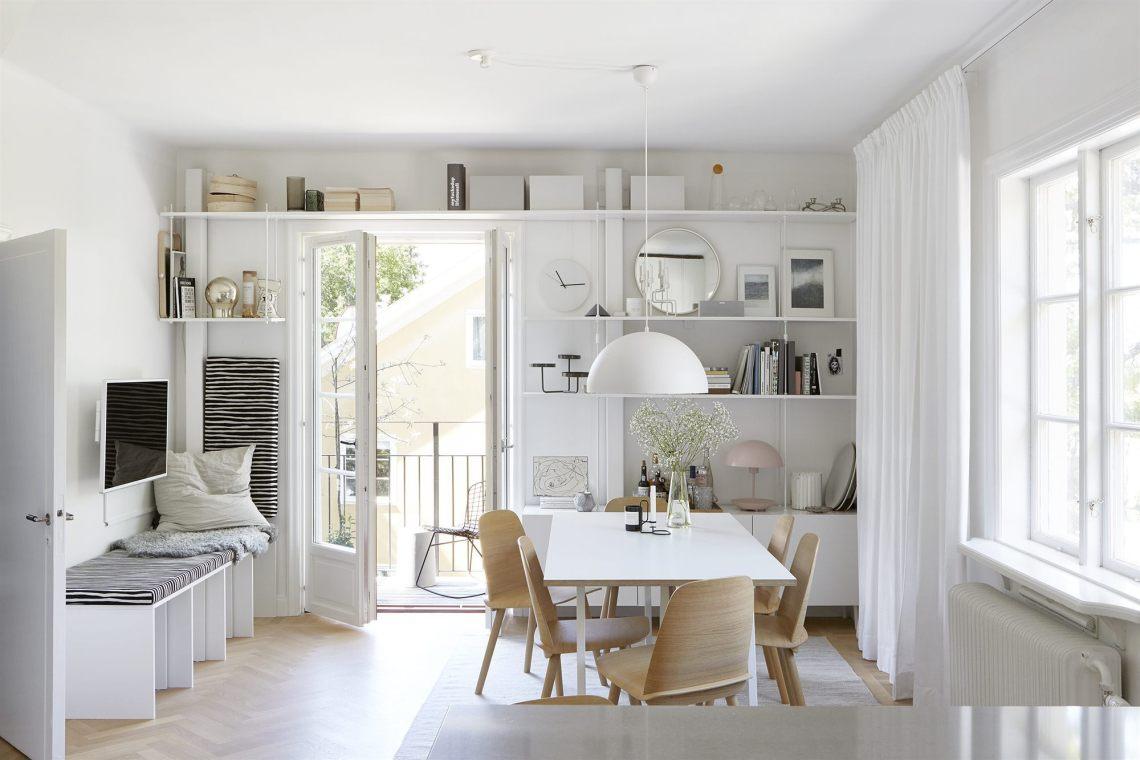 4 stylish doorway bookshelves - via cocolapinedesign.com