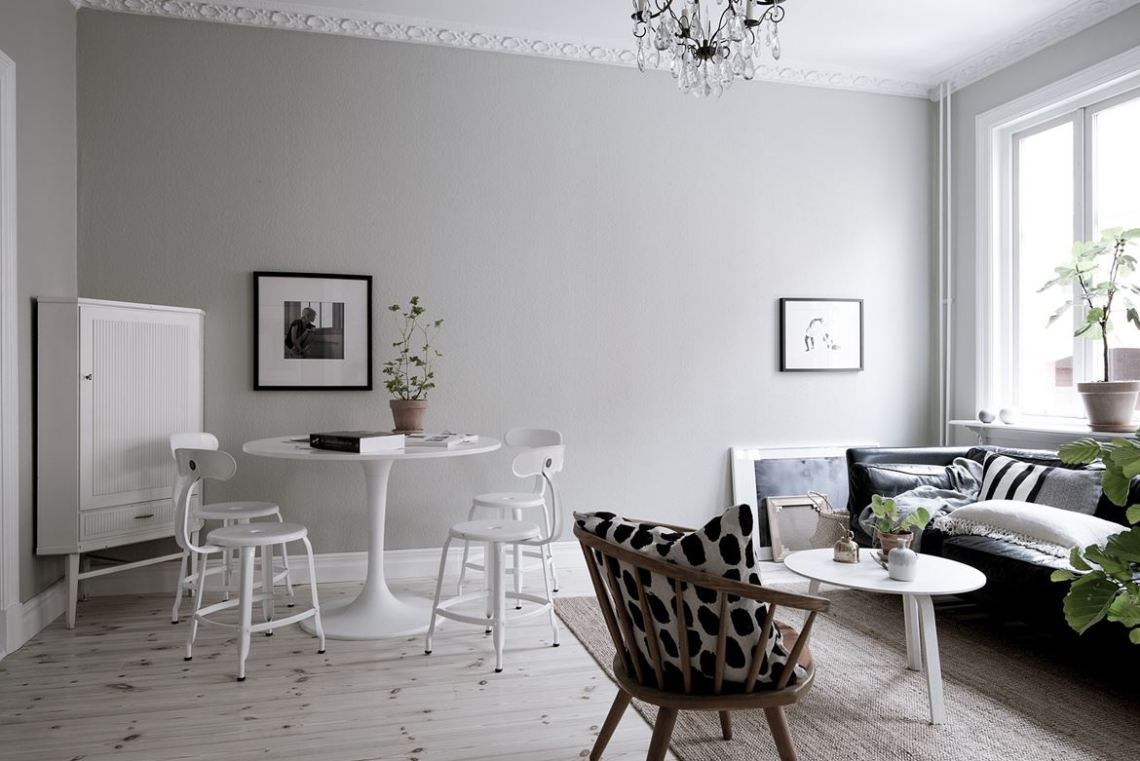 Cozy home with a romantic touch - via Coco Lapine Design