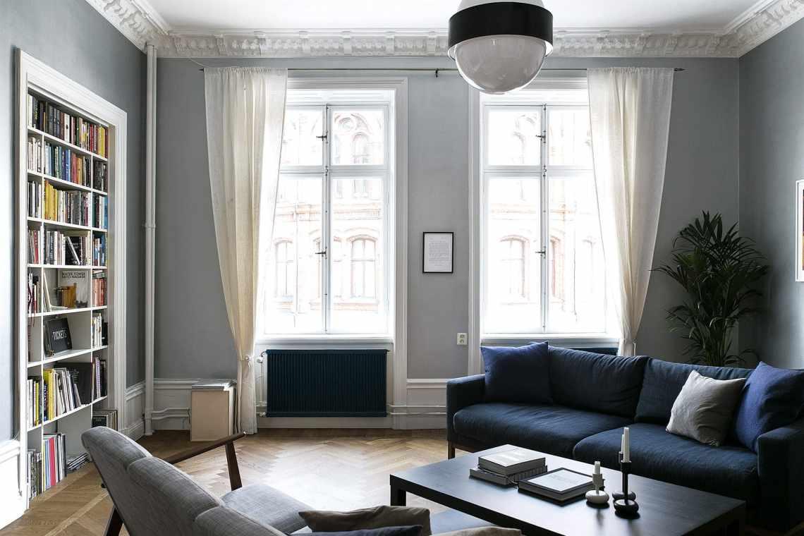 Gracious living room - via Coco Lapine Design