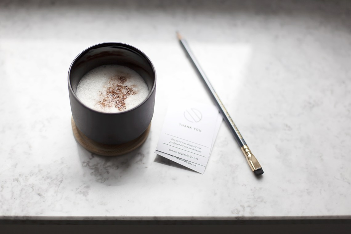 Coffee moment - via Coco Lapine Design