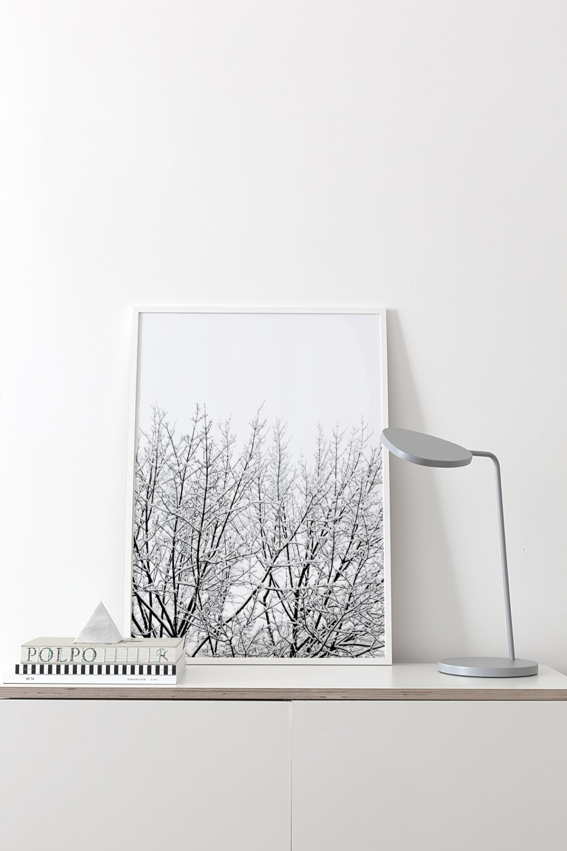 'Snowy Tree' print by Coco Lapine