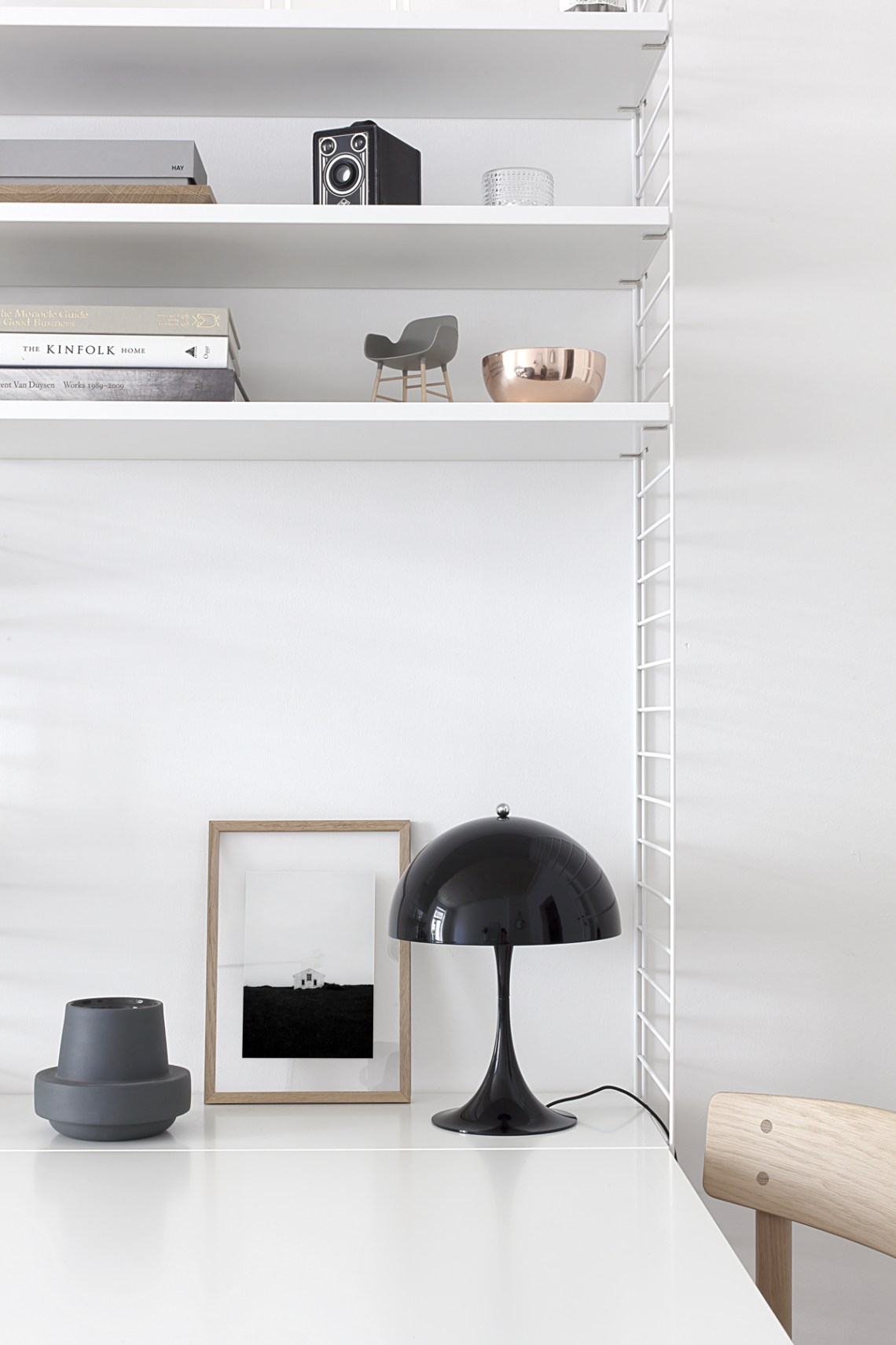 Panthella mini from Louis Poulsen - via Coco Lapine Design