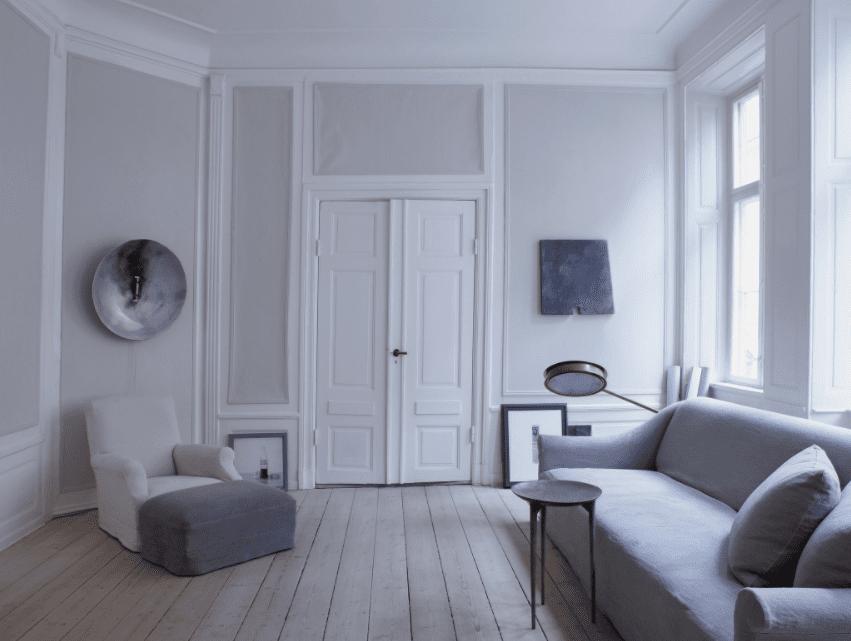 Oliver Gutsav's home - via Coco Lapine Design