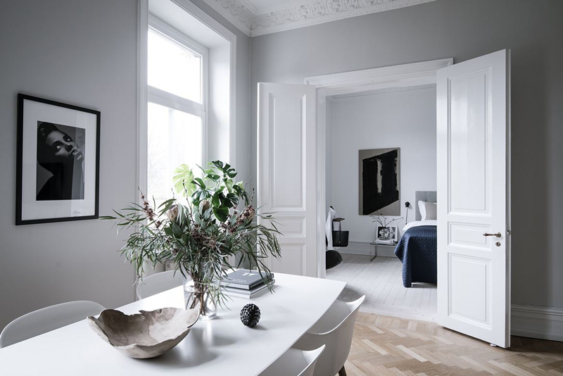 Fresh and elegant home - via Coco Lapine Design