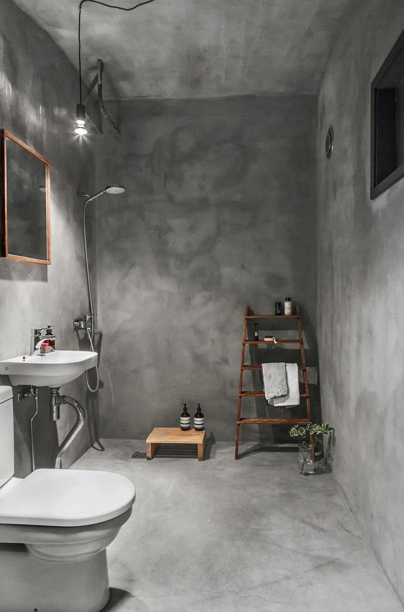 Concrete bathroom coco lapine designcoco lapine design for Concrete bathroom ideas