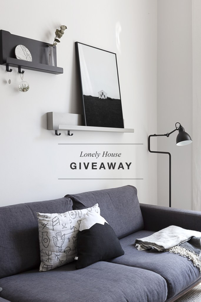 Lonely House Giveaway - via Coco Lapine Design blog
