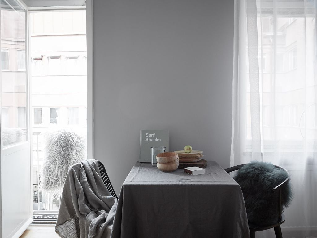 Green and grey palette - via Coco Lapine Design blog