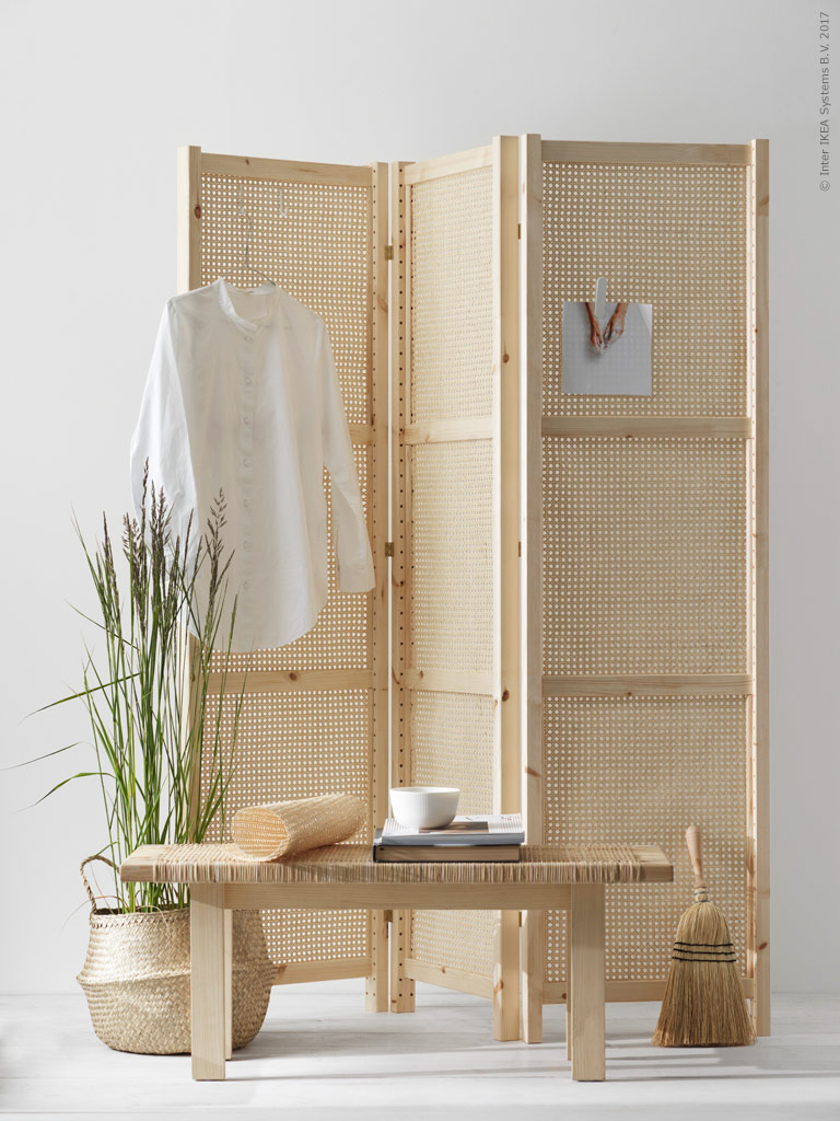 DIY folding screen - via Coco Lapine Design blog