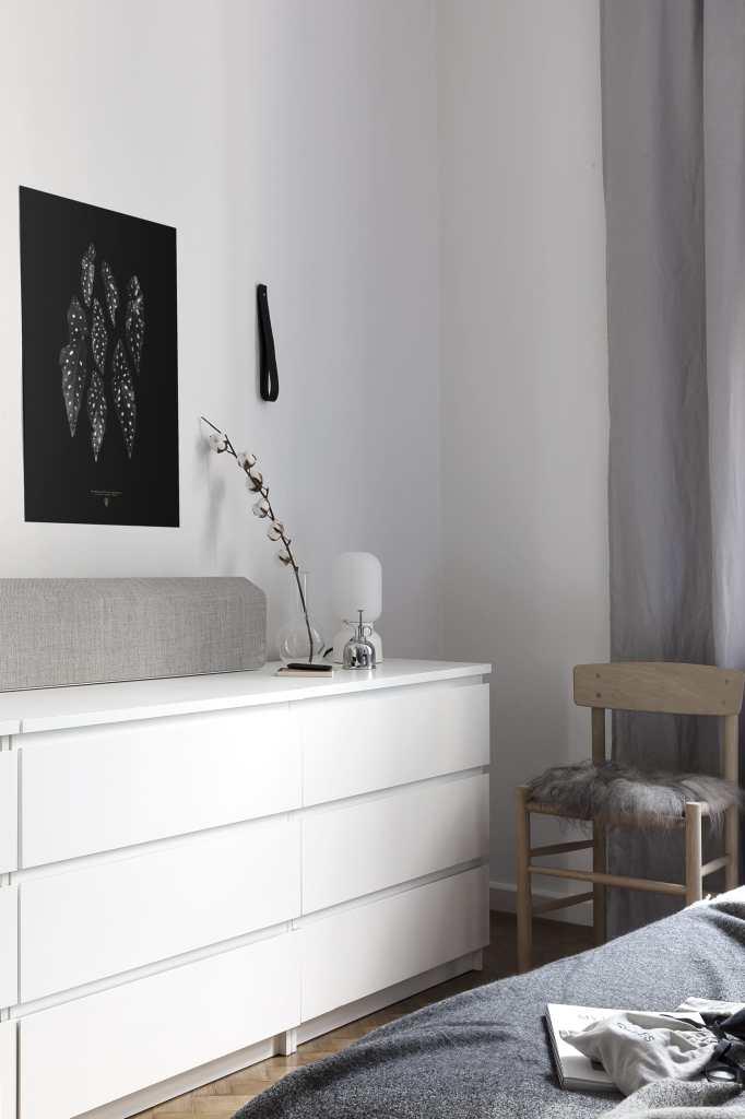 Vifa Stockholm in our bedroom - via Coco Lapine Design blog