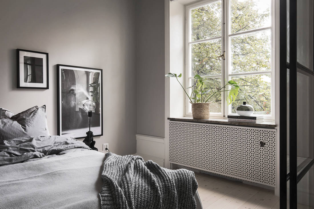 living room and bedroom in one   via Coco Lapine Design blog. Kitchen  living room and bedroom in one   COCO LAPINE DESIGNCOCO