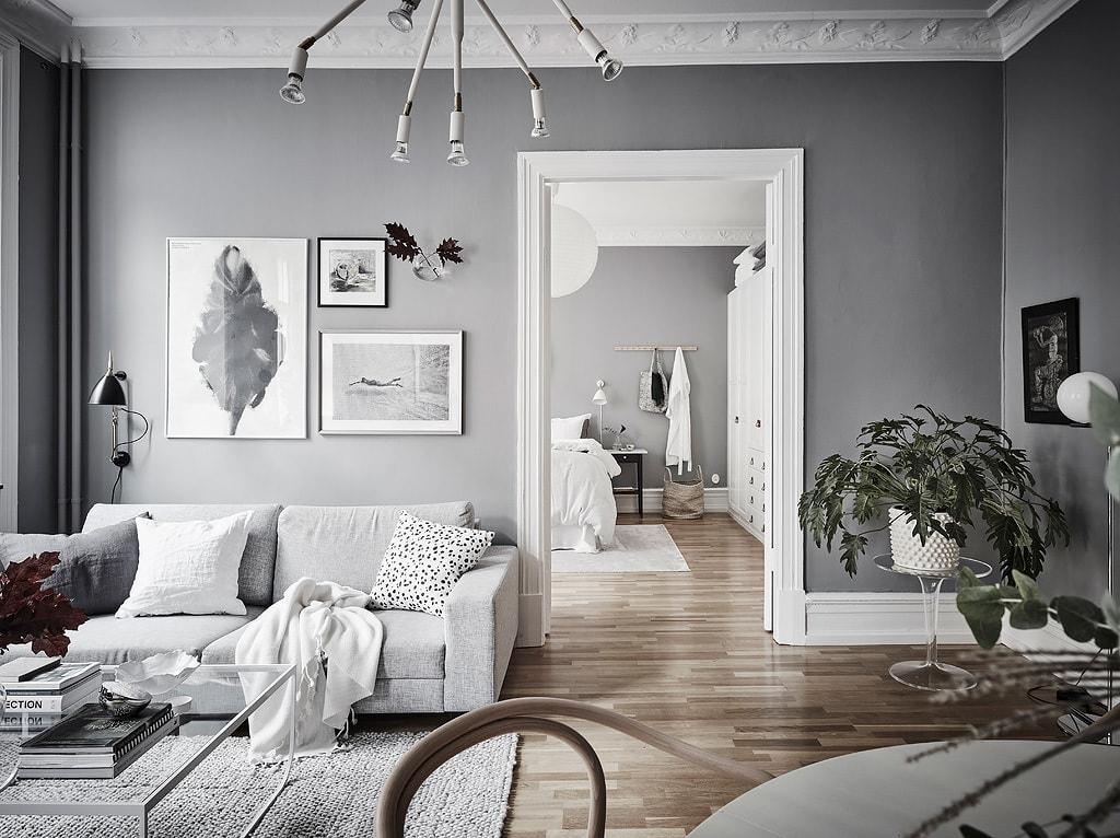 Home in grey - via Coco Lapine Design blog