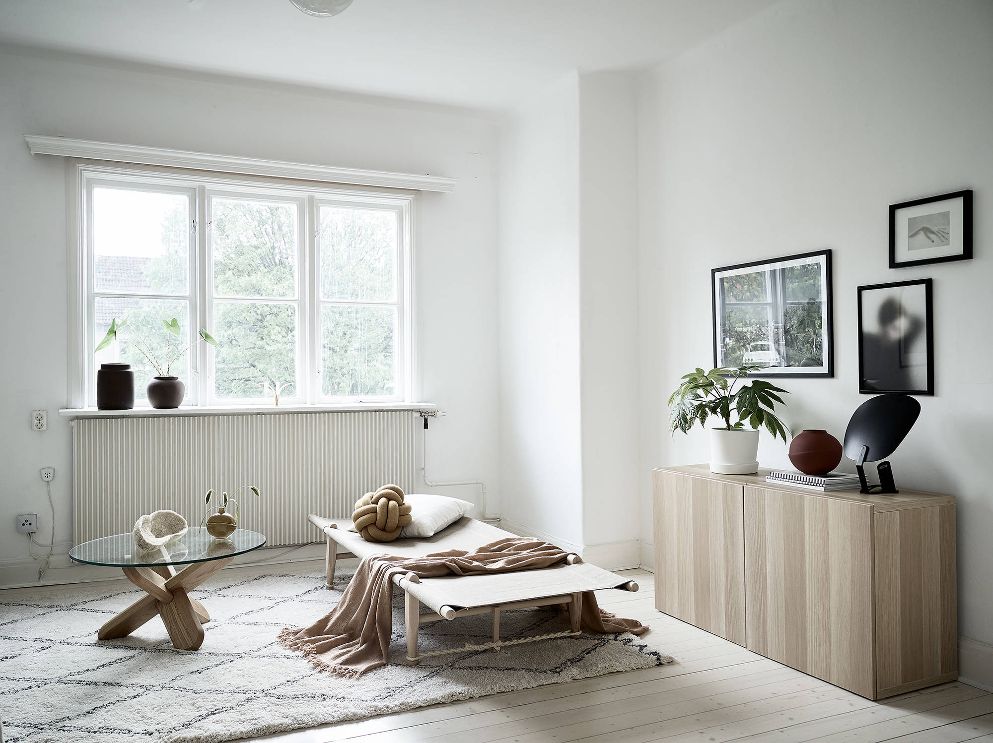 Minimal Living Room In Natural Colors Coco Lapine Designcoco Lapine Design