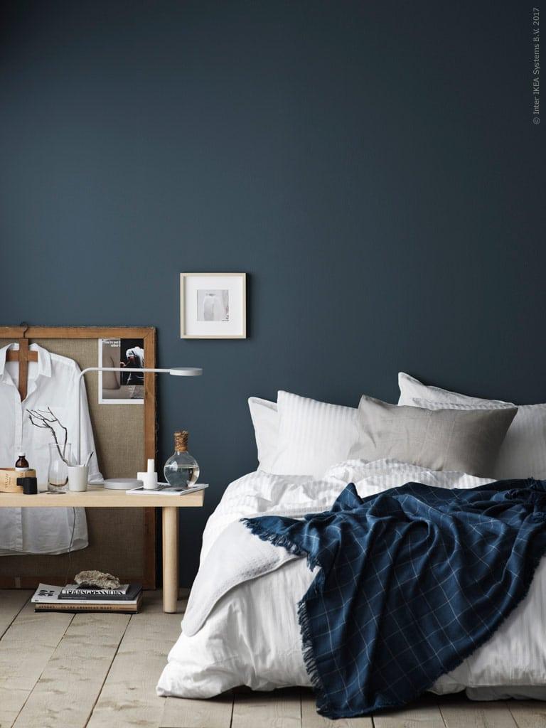 Petrol Bedroom Wall Coco Lapine Designcoco Lapine Design