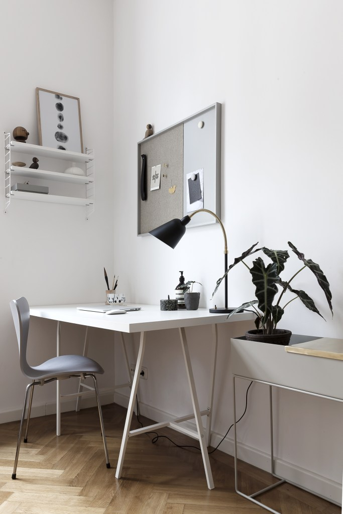 My office currently - via Coco Lapine Design blog