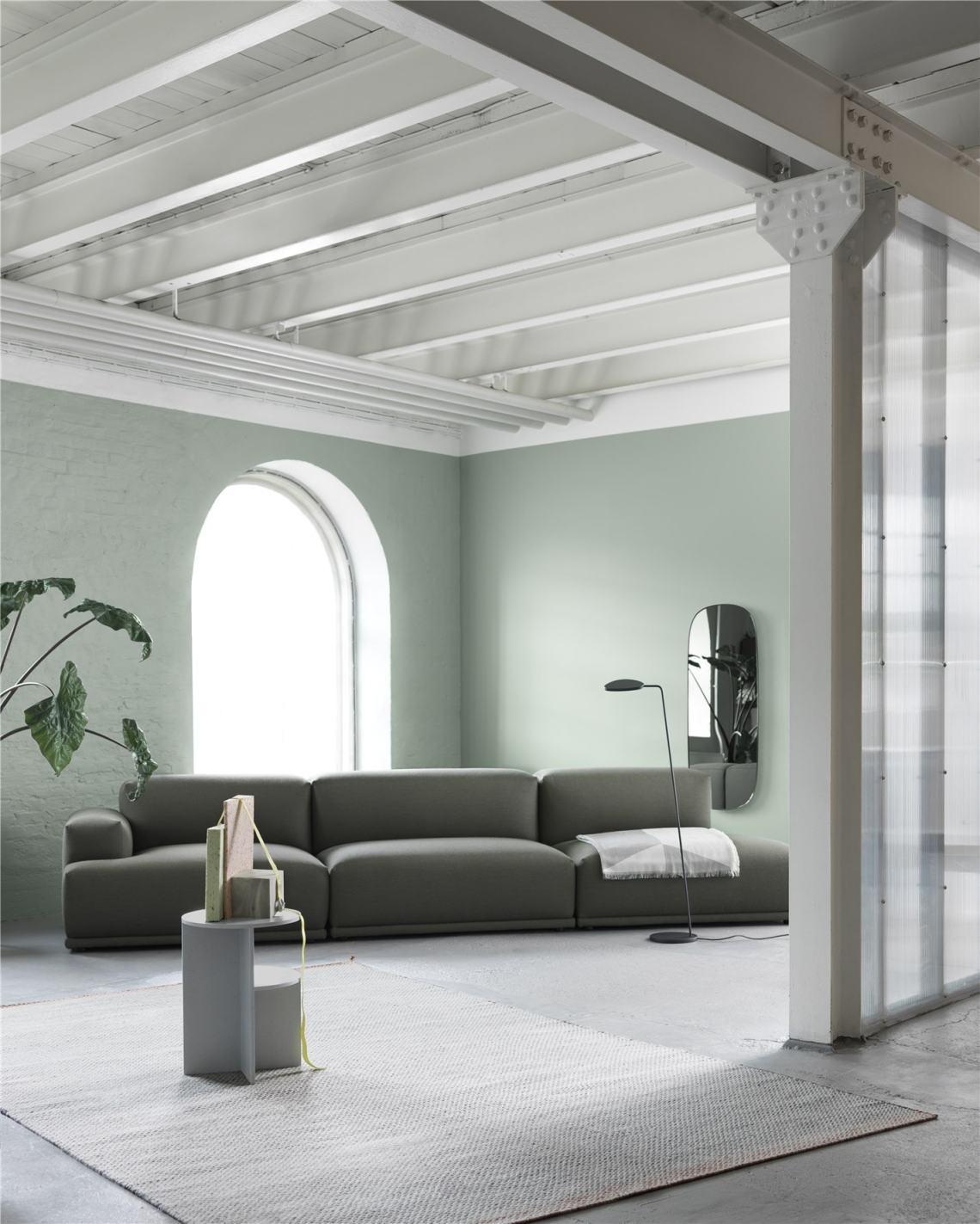 Connect-sofa-Fiord-961-Halves-Ply-Leaf-floor-lamp-Framed-mirror-org