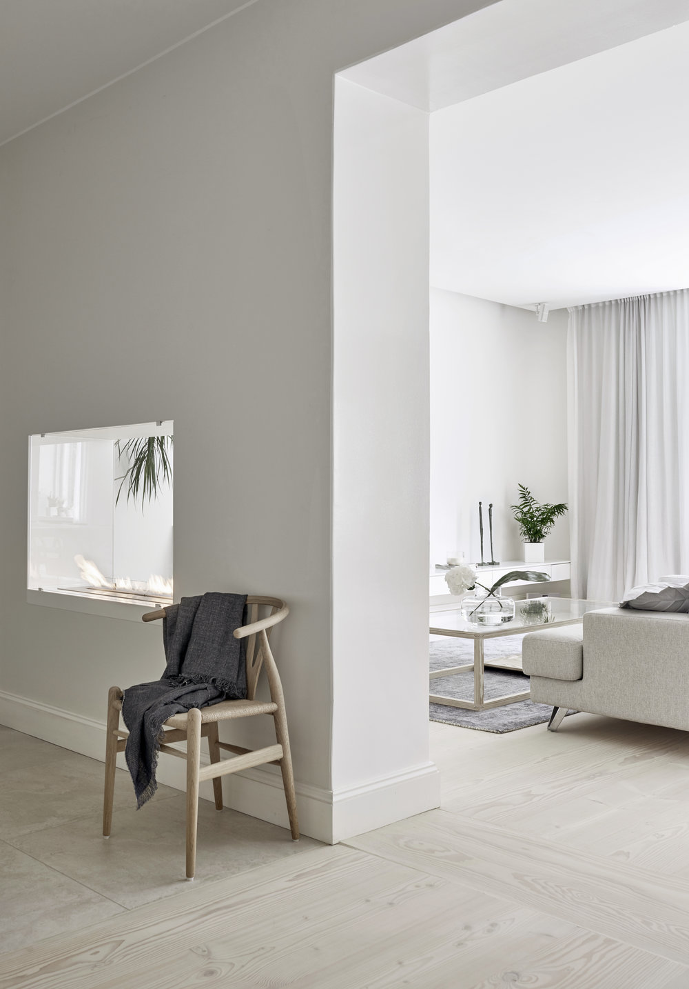 ... A bright white Finnish Home - via Coco Lapine Design blog ...