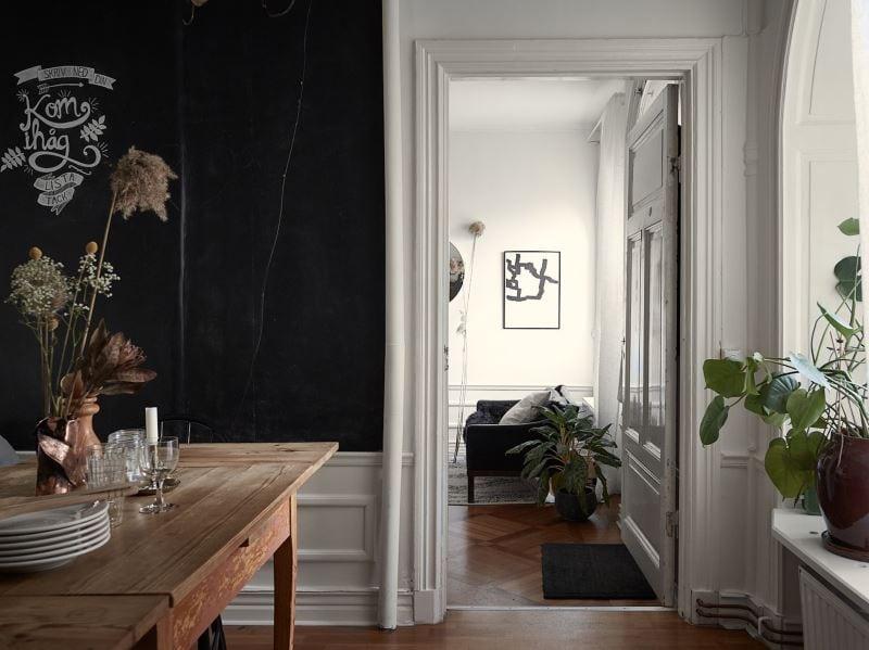 A cozy historic home - via Coco Lapine Design blog